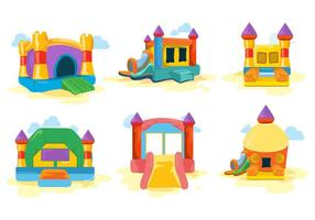 Bounce House Free Vector Art.