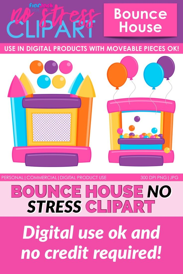 Bounce House Pink Version.