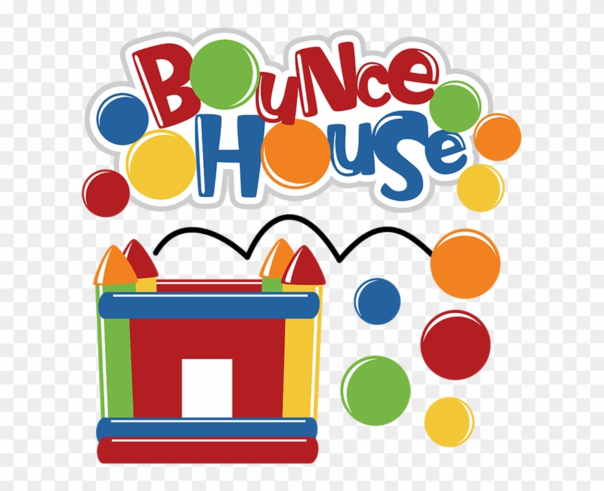 Bounce House Sign Clipart (#845089).