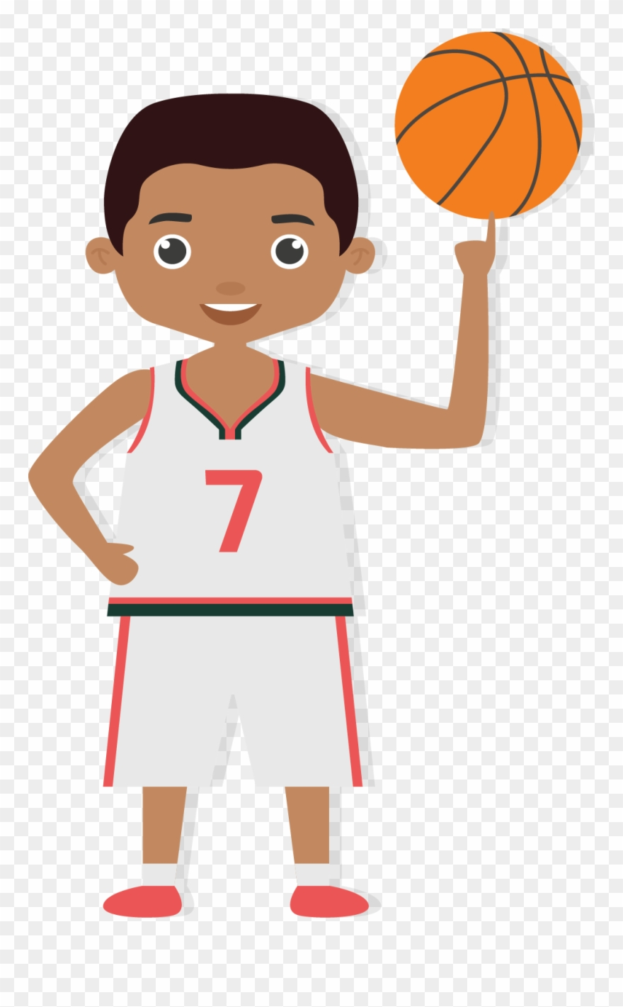 Graphic Royalty Free Library Bounce Clipart Boy Girl.