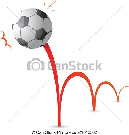 Bouncing ball cartoon.