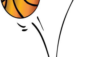 Bouncing basketball clipart » Clipart Station.