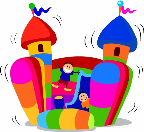 Bouncy castle clipart 2 » Clipart Station.