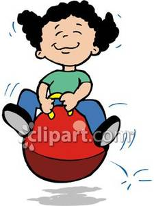 Bouncing clipart #17