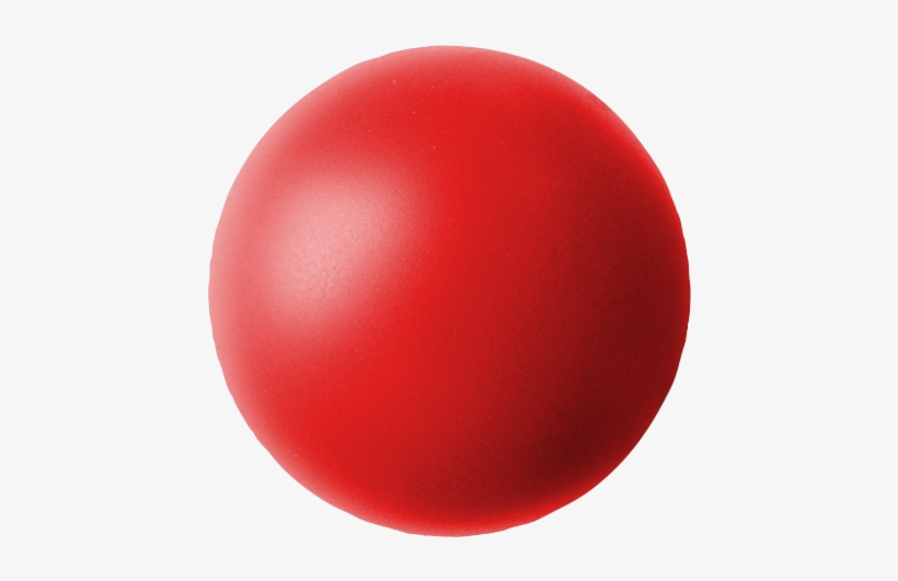 Red Bouncy Ball Png Transparent PNG.
