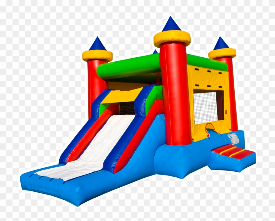Bounce House Clip Art Vector Black And White Download.