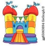 Bounce House Clip Art.