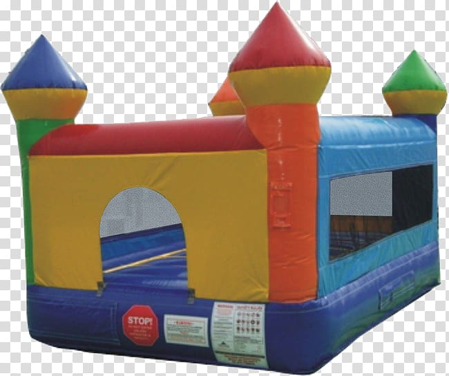 Inflatable Bouncers Castle Party House, Bounce House transparent.