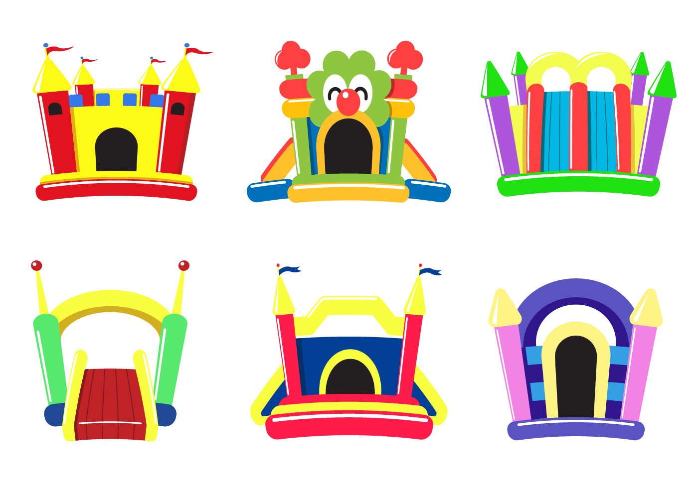 Bouncy House Clipart (101+ images in Collection) Page 1.