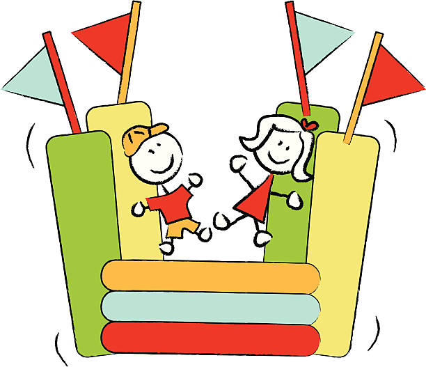 Bouncy house clipart 2 » Clipart Station.
