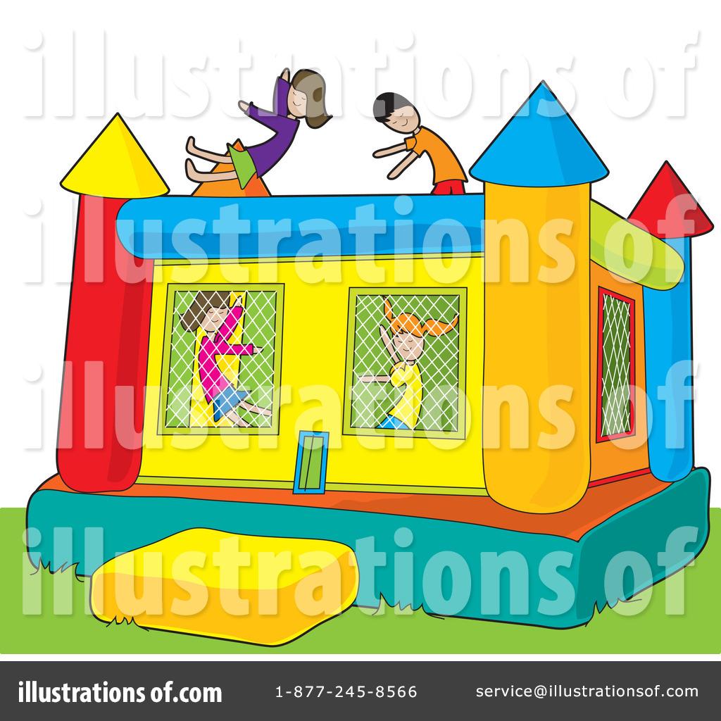 Bouncy House Clipart #33489.