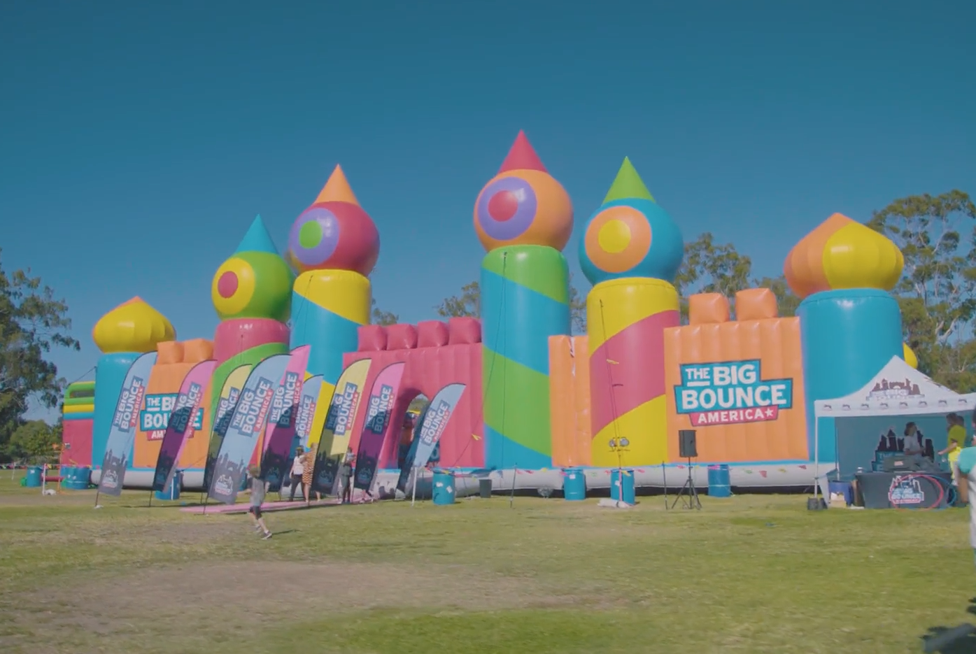 The world's largest bounce house is coming to Orlando.