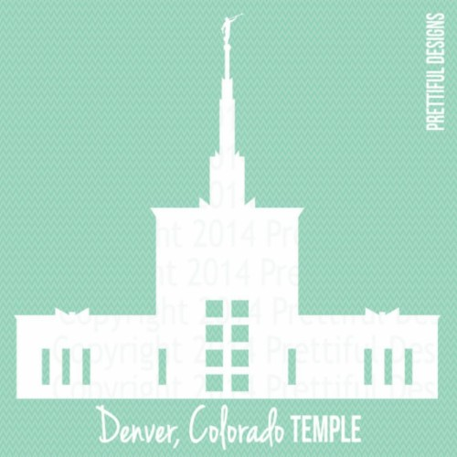 Lds Temple Clipart Denver Colorado Temple Lds Mormon.