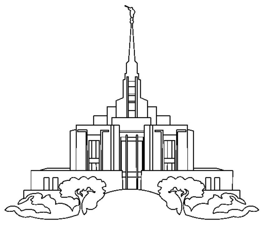 LDS Temples.