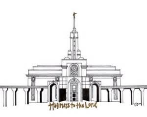 Bountiful Lds Temple Coloring Pages.