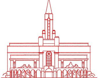 Bountiful temple.