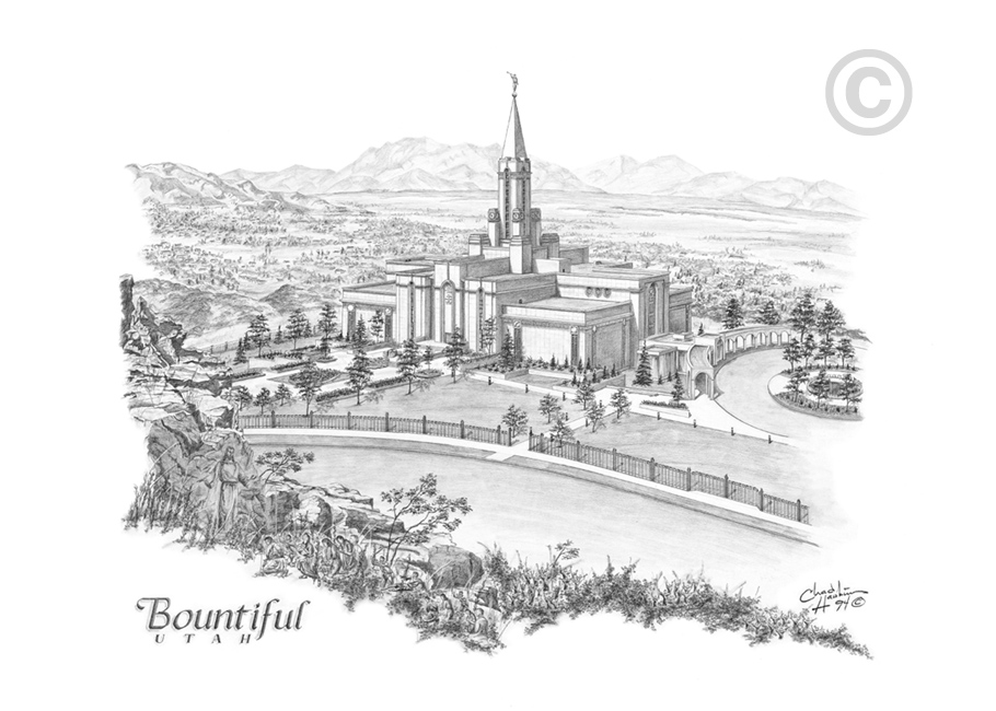 Bountiful Utah Temple.