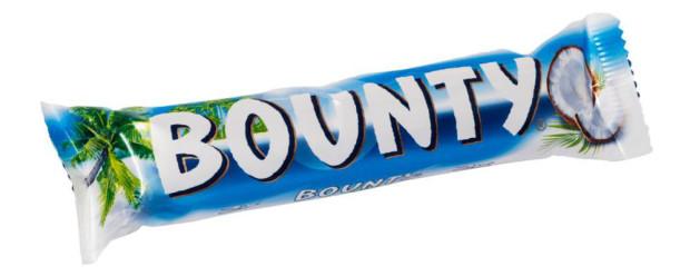 Bounty Chocolate Bar.