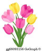Flower Bouquet Clip Art.