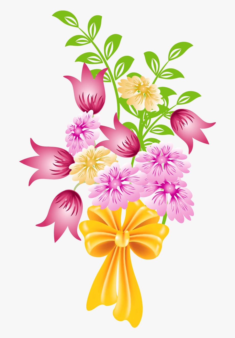 Floral Clipart Bunch.