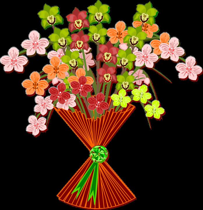 Bouquet Clip Art Flor.