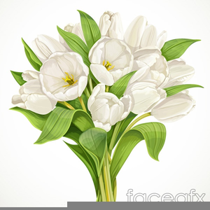 Beautiful Flower Bouquet Clipart.