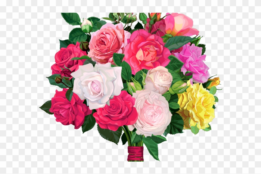 Bouquet Of Flowers Clipart Group (+), HD Clipart.