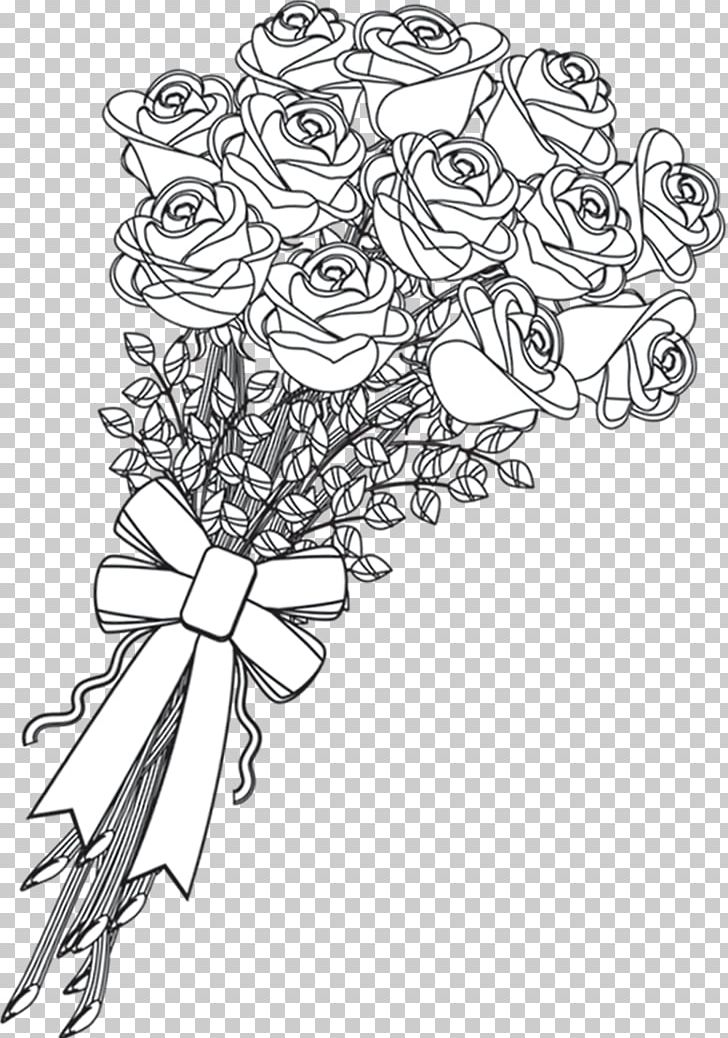 Beach Rose PNG, Clipart, Art, Artwork, Black, Black And.