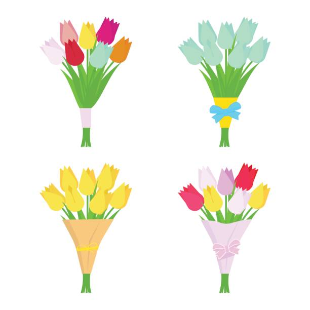 Best Bunch Of Flowers Illustrations, Royalty.