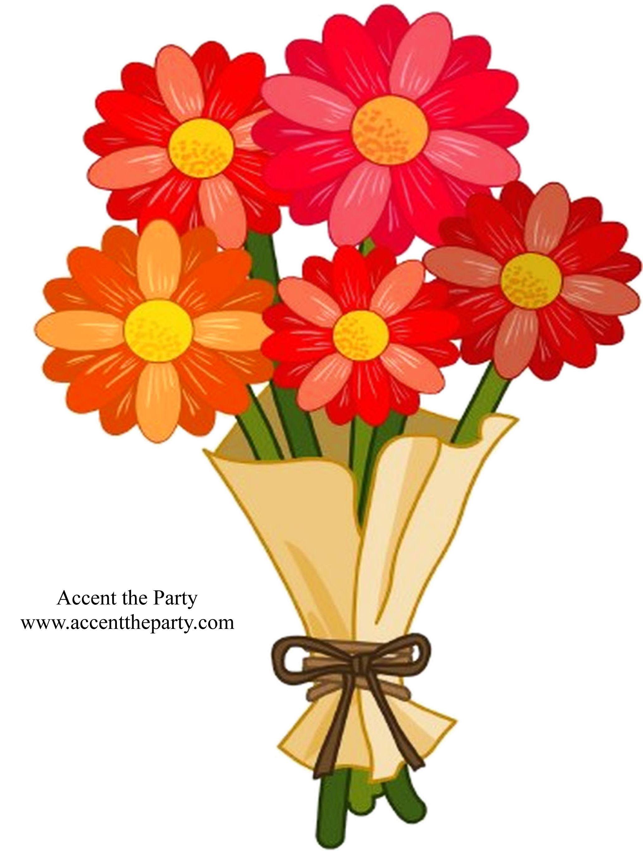 A bouquet of flowers clipart 6 » Clipart Portal.