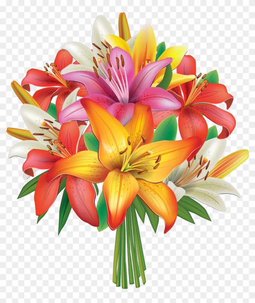 Flower Bouquet Vector.