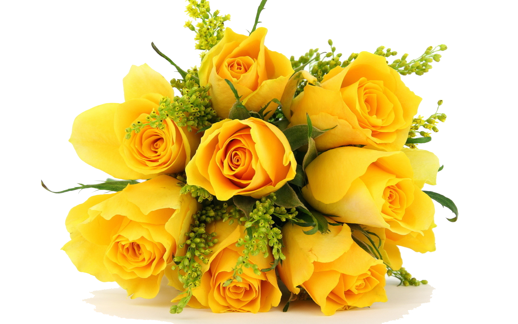 Yellow Flowers Bouquet Flowers Png Photos.