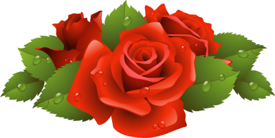Clipart bunch of roses images.