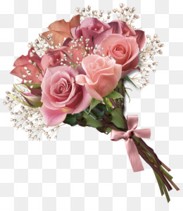 Rose Bouquet PNG.