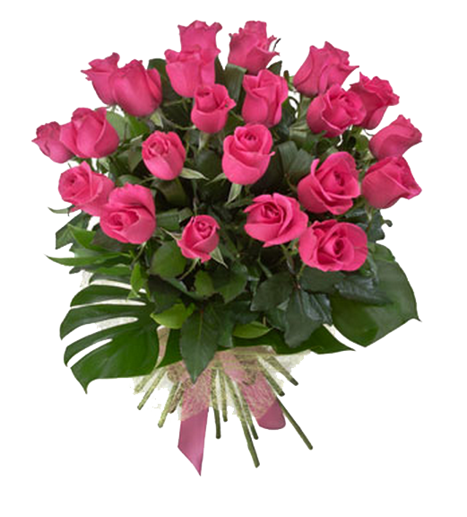 Rose Bouquet PNG HD Image.