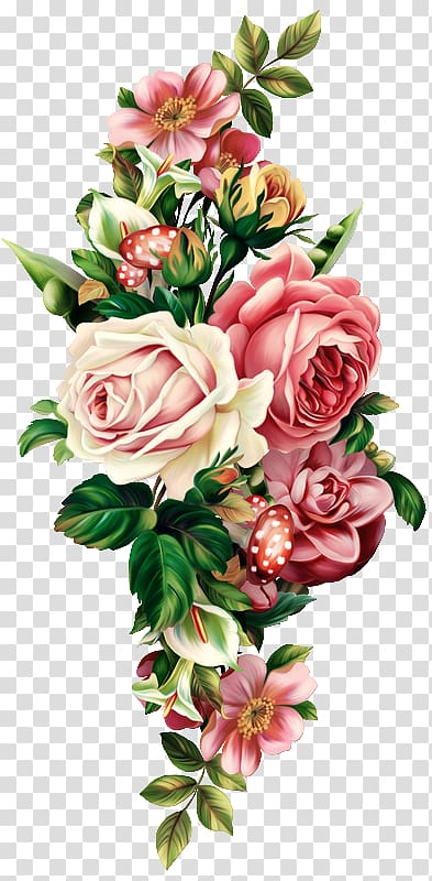 Floral design Flower bouquet Drawing , flower transparent background.