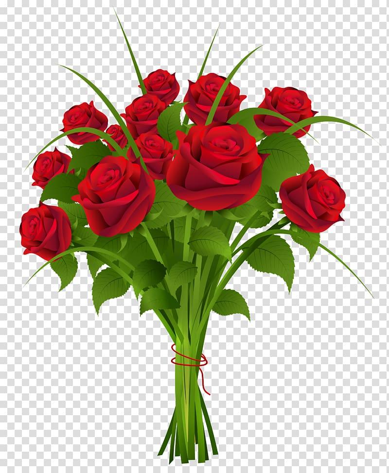 Flower bouquet Rose , bouquet transparent background PNG.
