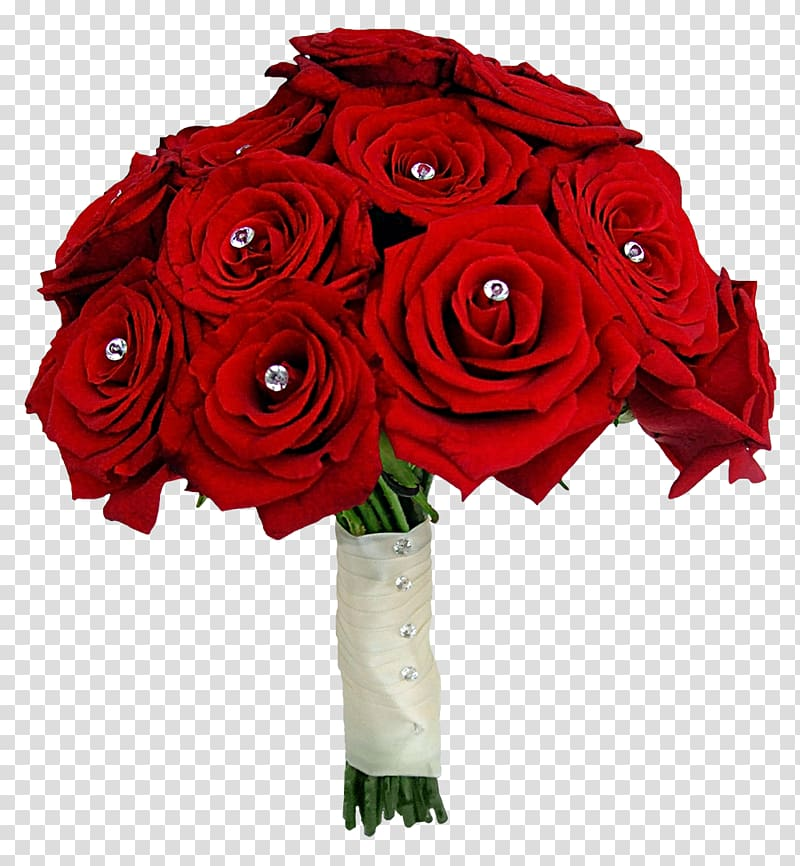 Red rose flower bouquet, Flower bouquet Rose Red Wedding.
