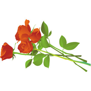 Free Flower Bouquets Clipart.