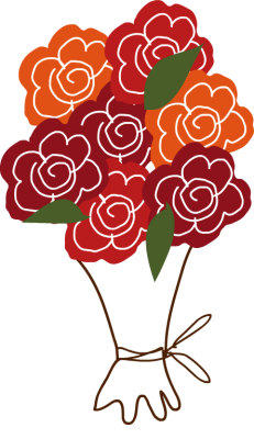 Bouquets clipart - Clipground