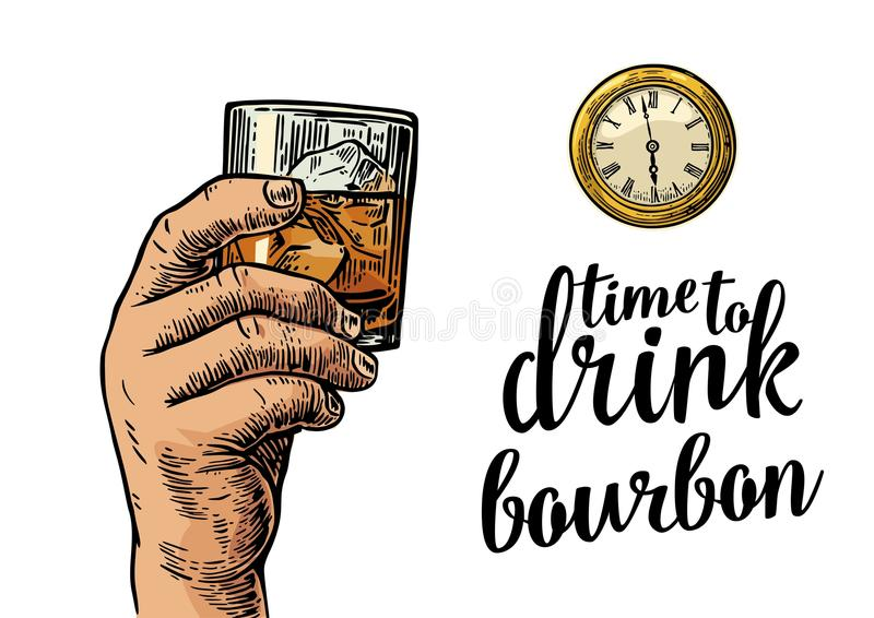 Bourbon Stock Illustrations.