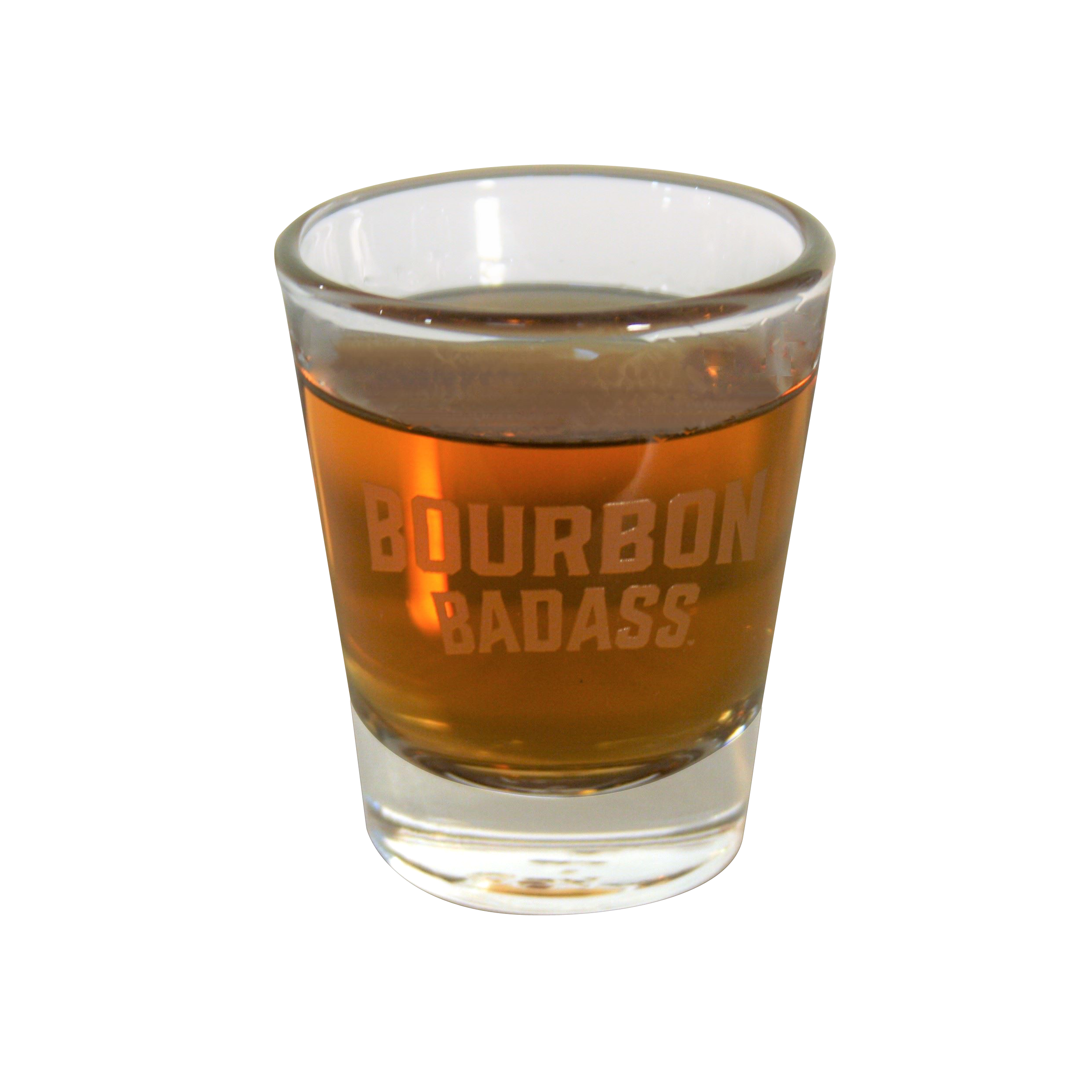 Bourbon Badass™ Shot Glass (set of 2).