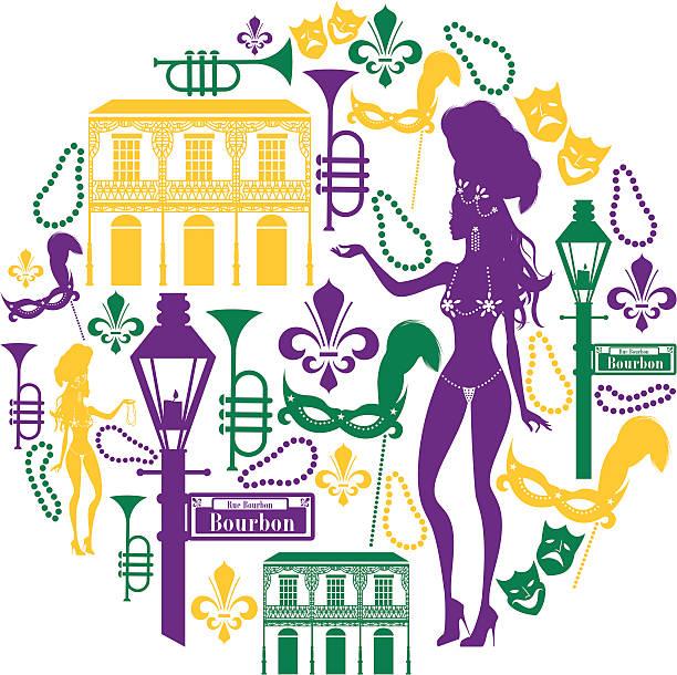 Bourbon Street Illustrations, Royalty.