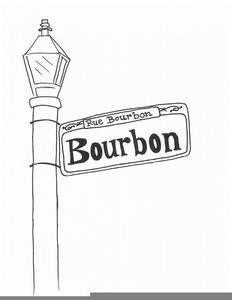 Bourbon Street Clipart.