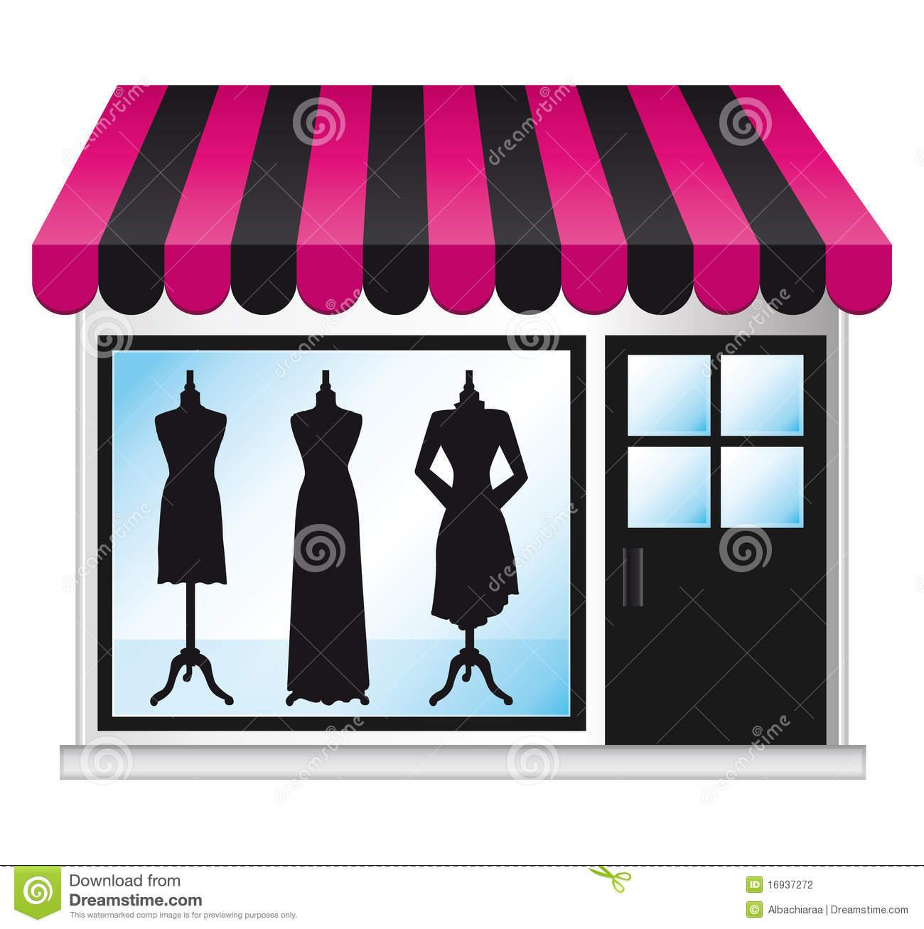 Fashion Boutique Clipart.