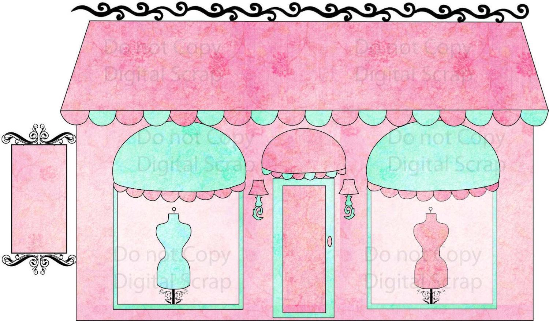 Boutique images clip art.