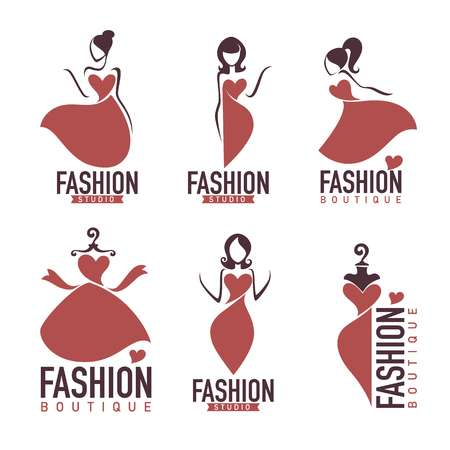 15,566 Boutique Logo Stock Vector Illustration And Royalty Free.