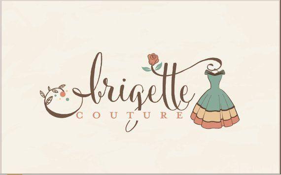 Fashion logo design, vintage logo, Boutique logo, ruistic.