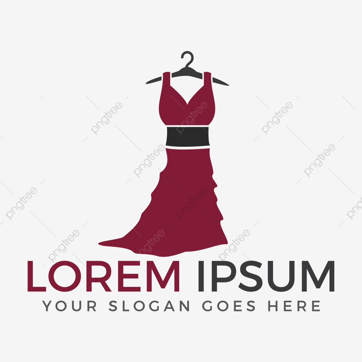 Woman Fashion Logo Design Fashion Woman Model With Boutique Logo.
