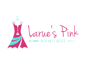 A dress boutique logo designed for stylish ladies.